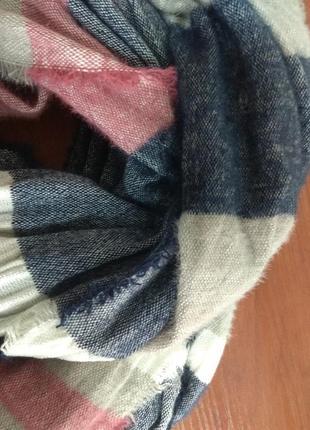 Теплый большой шарф tu