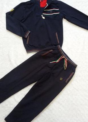 Спортивный костюм  для мальчика. тм official supplier  ferrari. рост 140