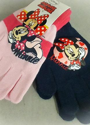 Перчатки на девочку комплект 2 шт.
