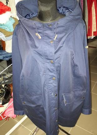 Парка-куртка тонкая 58-60