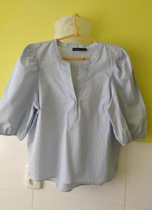 Рубашка с объемными рукавами от m&s
