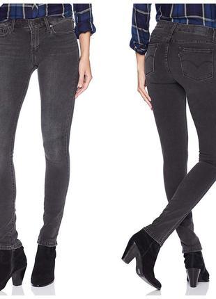 Новые джинсы levi's 711 skinny