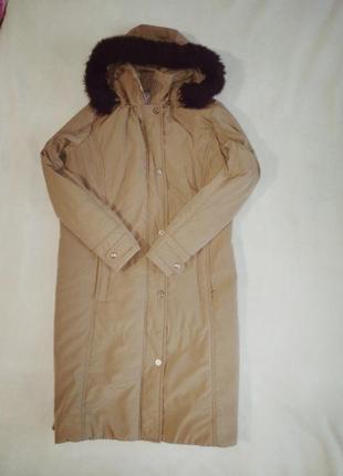 Парка куртка длинная
