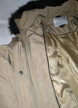 Парка куртка длинная3