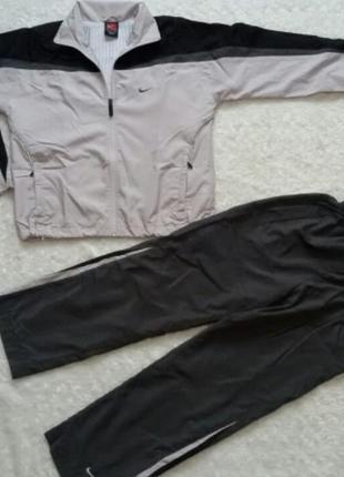 Спортивный костюм из плащёвки, для мальчика. рост 152 тм nike
