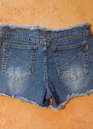 Шорты джинсовые2
