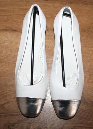 Кожаные балетки gerry weber, 39 размер