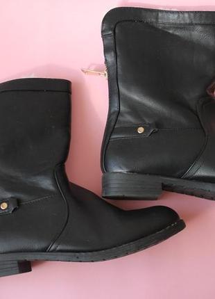 Полусапоги евро зима ботинки сапожки дешево