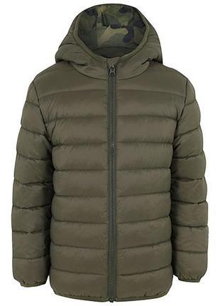 Куртка двухсторонняя, парка,пуховик george, джордж, демисезон, деми, весна