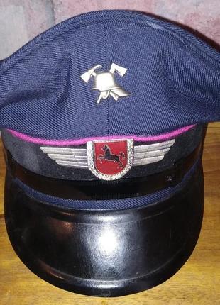 Фуражка пожарной охраны нижней саксонии, фрг