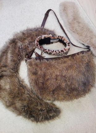 Накладной воротник с сумкой,повязкой в ассортименте