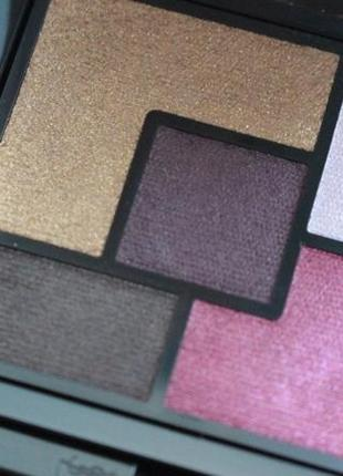 Тени для век yves saint laurent 5 couleurs couture palette#palette metal clash-вышли сроки