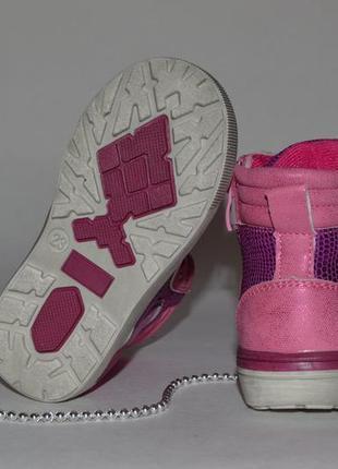 Ботинки с высоким задником демисезонные2