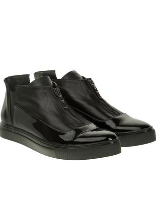 475бп женские ботинки el passo,кожаные,на танкетке,на толстой подошве,на низком ходу