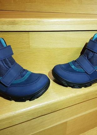Детские зимние ботинки ecco