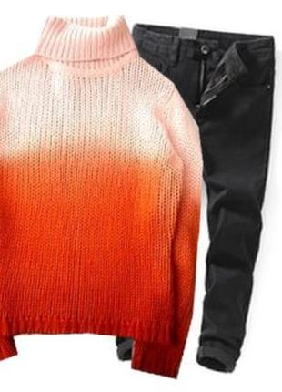 Яркий свитер размер 44-46
