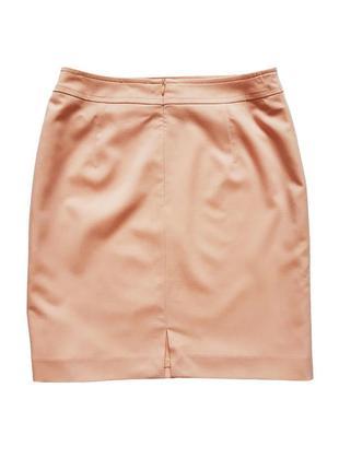 Классическая юбка пудрового цвета, размер s-m4
