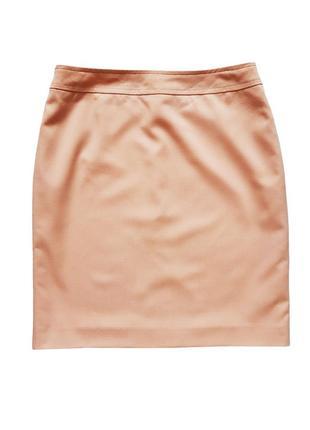 Классическая юбка пудрового цвета, размер s-m3