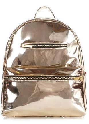 673362e9874c Вместительная женская сумка-рюкзак золотой., цена - 1200 грн ...
