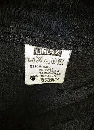 Чёрные атласные бриджи от lindex4 фото