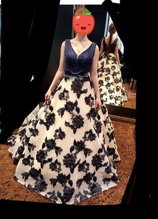 Платье выпускное дизайнерское