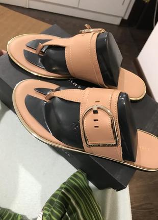 Шлепки сандали босоножки вьетнамки tommy hilfiger