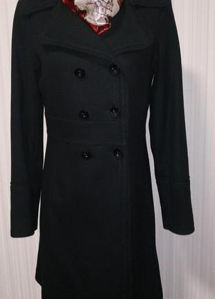 Пальто шерстяное от h&m