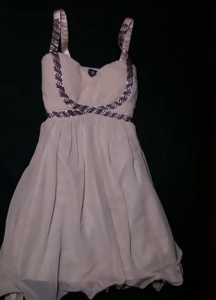 Платье выпускное бальное вечернее