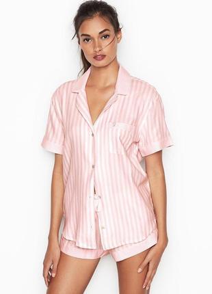 Фланелевая пижама пижамка одежда для сна и дома виктория сикрет оригинал