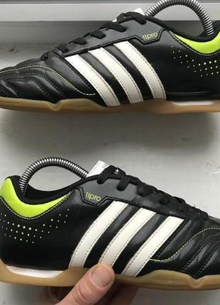 Adidas 11pro 11questa 39-40р футзалки бампы оригинал