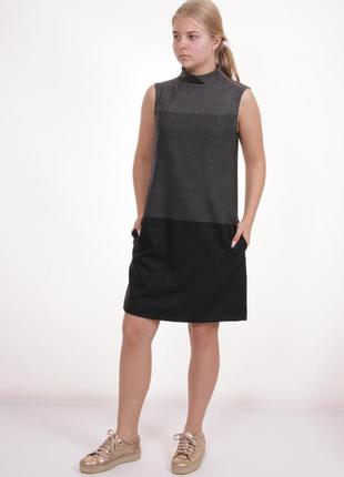 Миди платье футляр zara