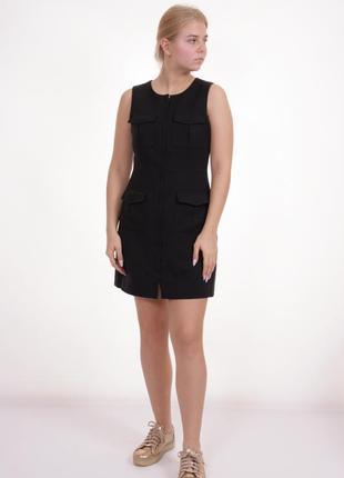 Приталенное платье миди футляр h&m