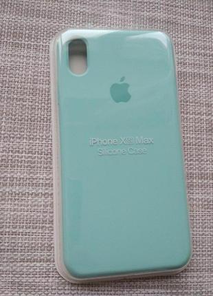 Чехол silicon case на iphone xs max