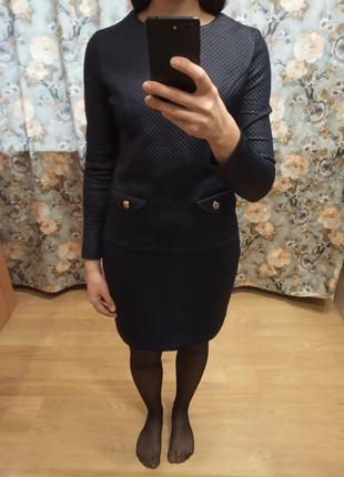 Костюм юбка и кофта cardo s, m для офиса