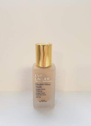 Тональный флюид estee lauder double wear nude waterfresh spf 30