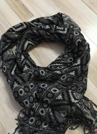 Шарф палантин женский шарф
