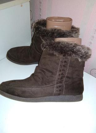 Флисовые ботиночки, полусапожки f&f 36 р