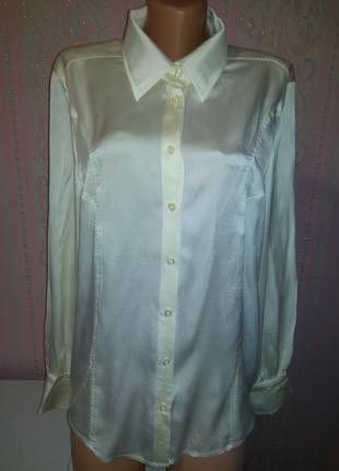 Шёлковая блуза, рубашка basler xxxl