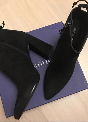 Stuart weitzman ботинки замшевые оригинал 42.5 43 размер