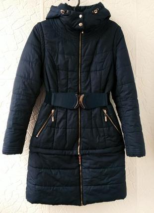 Пальто пуховик куртка жилет трансформер 3в1 daser