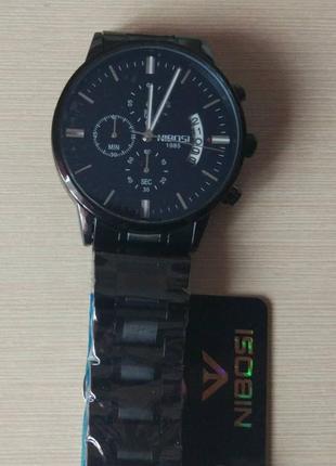 Мужские наручные часы nibosi 2309 silver3 фото