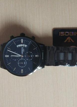 Мужские наручные часы nibosi 2309 silver2 фото