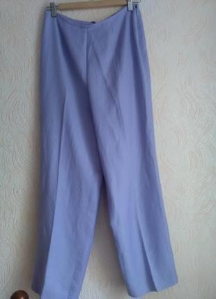 Новые льняные брюки kasper