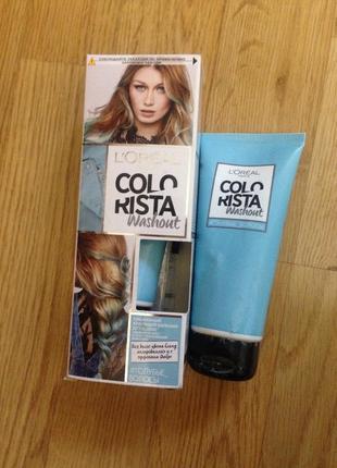 Тоник краска colorista #голубые волосы