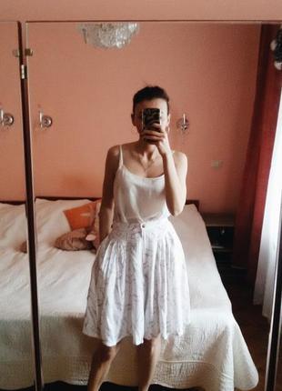 Винтажные  шорты юбка