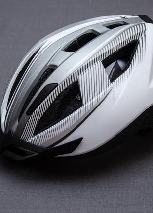 Велосипедный шлем crivit led light sp 91. размер 54 - 59