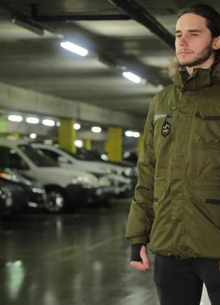 Мужской пуховик, мужская зимняя куртка.1 фото