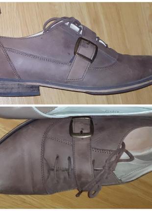 Женские туфли, кожа