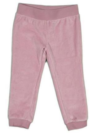 Велюровые штаны для девочки impidimpi 74-80