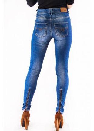 Джинсы женские синие object (27) (xs)3 фото
